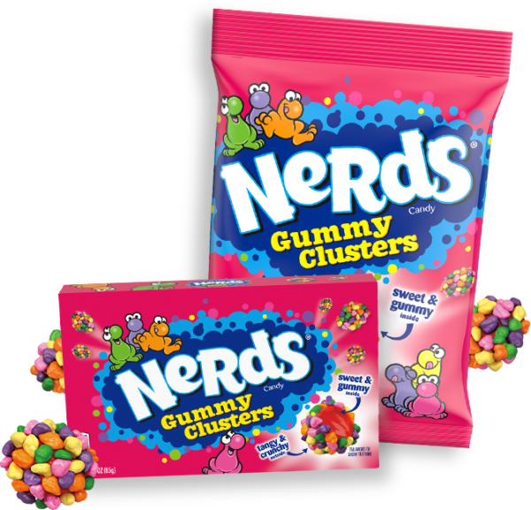 Gummy Clusters, nerd ropesmedicated nerds rope 500 mg